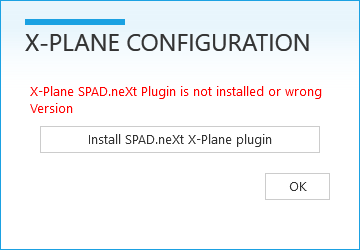 Connect to X-Plane - SPAD neXt